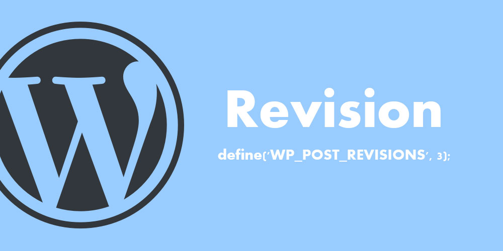 WordPress revision