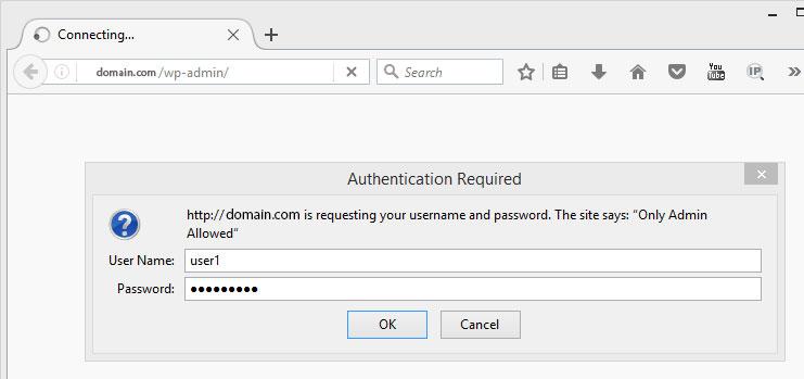 password enter