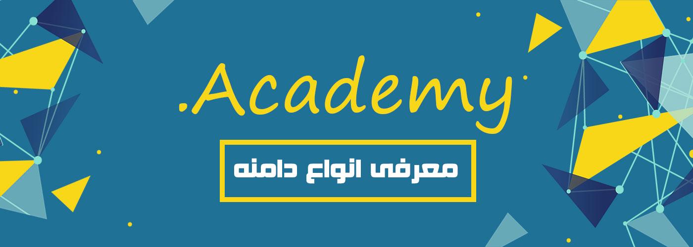 معرفی دامنه Academy.