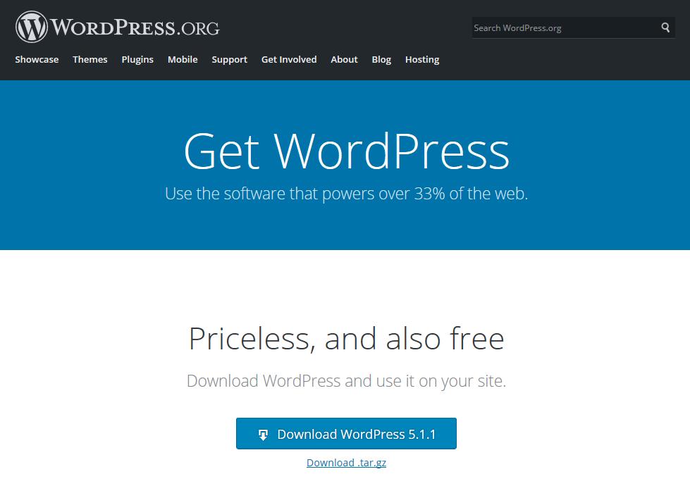download-wordpress-english